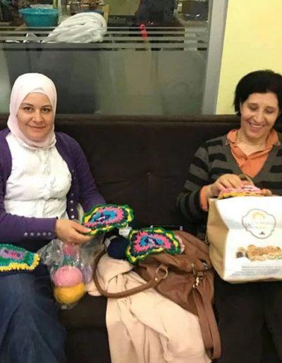 Hiba and Nadia
